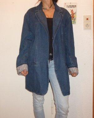 Vintage Oversized Jeansmantel