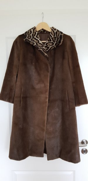 Pelt Coat bronze-colored fur