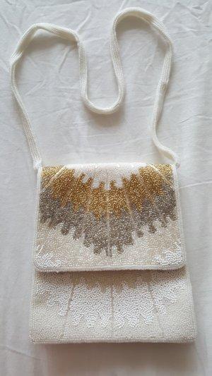 Vintage Perlen Umhängetäschchen