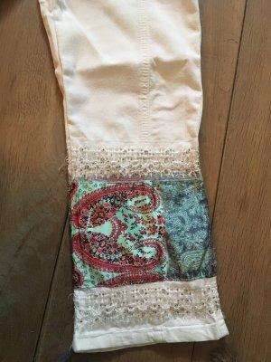 Vintage Perlenhose inkl. Tuch Guertel