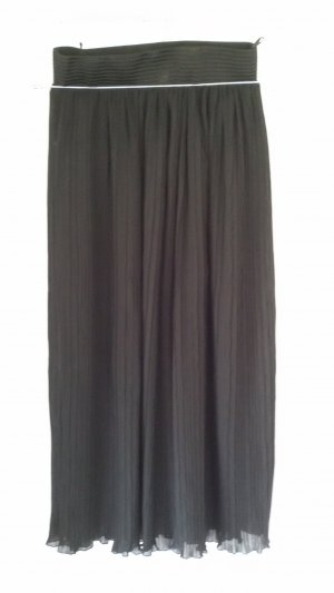 Pleated Skirt black synthetic