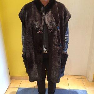 Vintage -Plüschjacke - Fake Fur