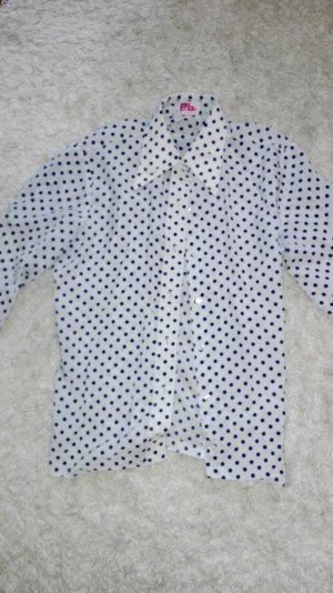 Vintage polka dot long sleeve shirt