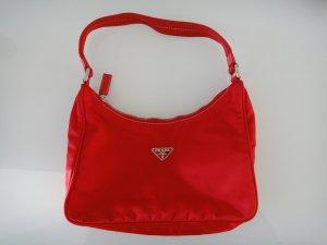 Vintage Prada rote Handtasche UNBENUTZT