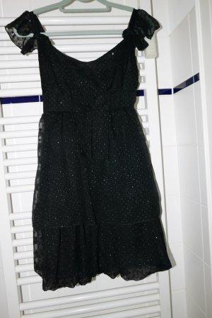 Vintage Pretty sparkly little black dress