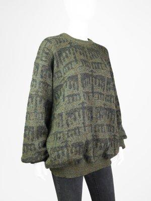 Vintage Pullover aus hochwertigem Material-Mix