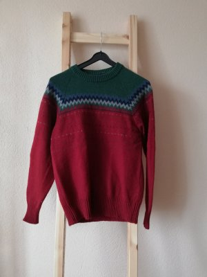 Vintage Pullover gemustert