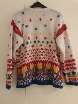 Vintage Pullover handgestrickt
