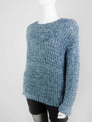 Vintage Pullover mit grob-luftiger Strick-Struktur