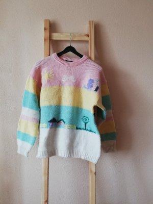 Vintage Wool Sweater multicolored