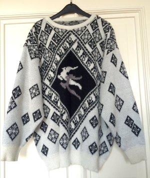 Vintage Pullover Norweger Muster Winter Trend Blogger