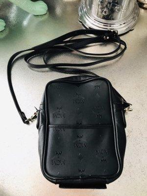 Vintage RAR Leder Handtasche MCM Spiegel