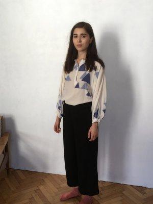 Vintage Rein Seiden Bluse von escada