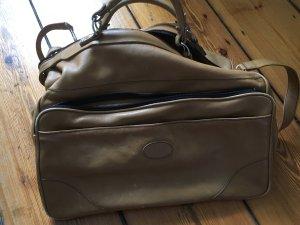 Vintage Weekender Bag light brown-beige