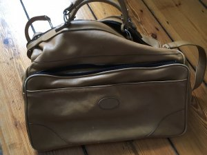 Vintage Weekender Bag light brown-beige