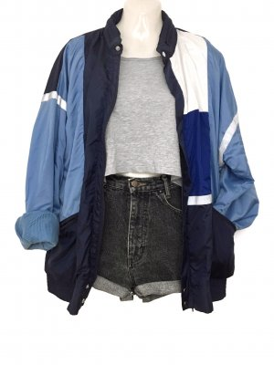 Adidas Windbreaker azure-blue
