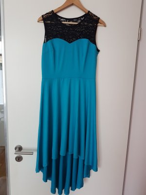 High Low Dress turquoise