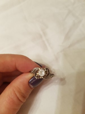 Vintage Ring Silber