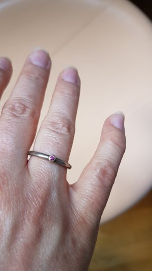vintage Ring, Silber, Silberring, 16mm