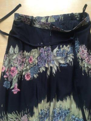 Vintage Maxi Skirt multicolored mixture fibre