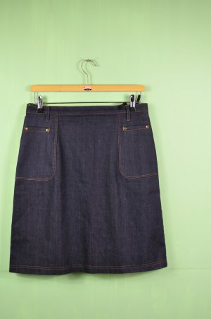 Vintage Rock im Dunklen Jeansblau Meliert