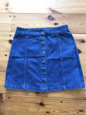 Gonna di jeans blu-blu scuro