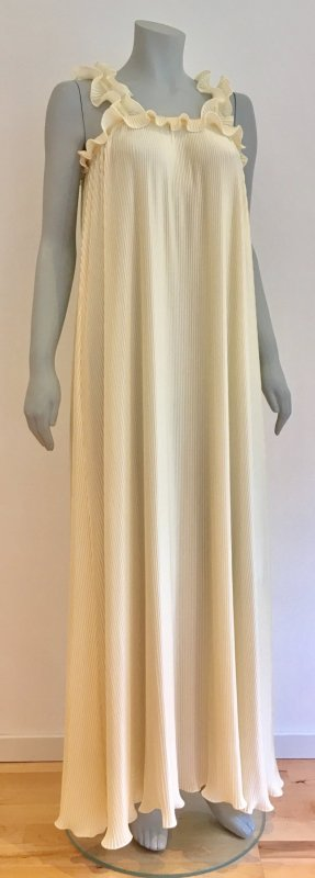 Vintage Romantik Nachthemd Negligee Made in Italy Gr. 36