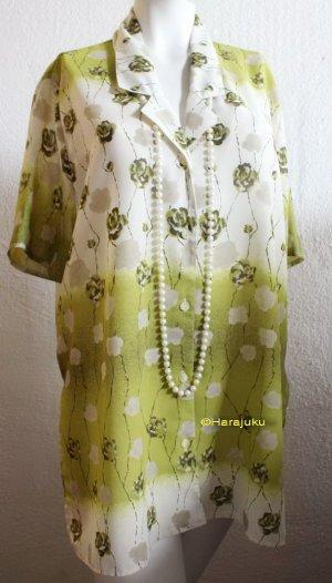Vintage Rosen Bluse oversize