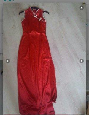 Maxi abito rosso