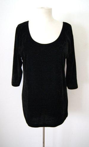 Vintage Samtshirt, oversized Samtsweater grunge blogger