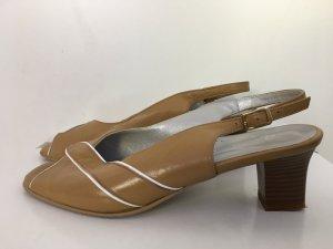 Vintage Sandalen mit Absatz