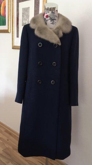 Vintage Schätzchen: Mantel reine Schurwolle