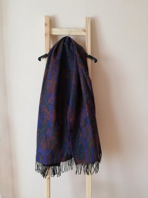 Vintage Woolen Scarf multicolored