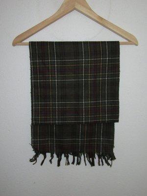 Vintage Schal karriert Retro
