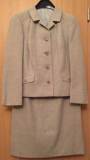 Vintage Ladies' Suit pale blue-sage green