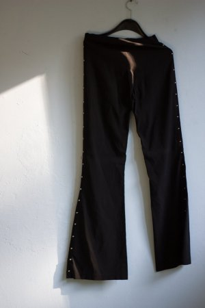 Flares black-silver-colored