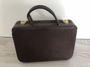 Frame Bag dark brown leather