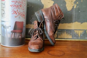 Lace-up Boots brown leather