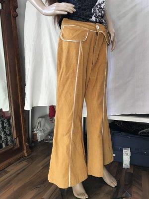 Pantalone di velluto a coste giallo