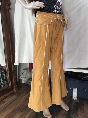 Corduroy Trousers yellow