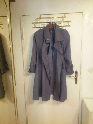 Vintage! schöner grauer trenchcoat
