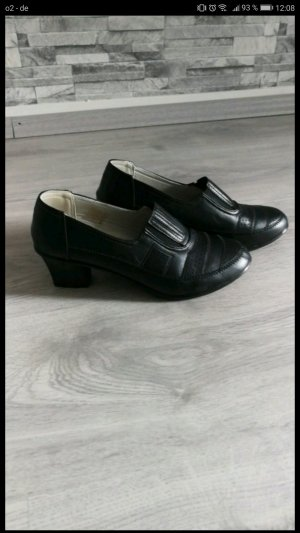 Vintage Schuhe 3-4cm hoch. Gr.:38 VB