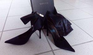 Vintage schwarze Gucci Pumps