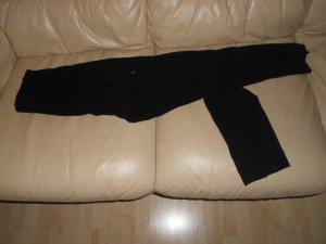 Vintage- schwarze Stretchhose Gr. 38 von Ambiente