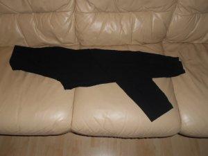 Vintage- schwarze Stretchhose Gr. 40 von Ambiente