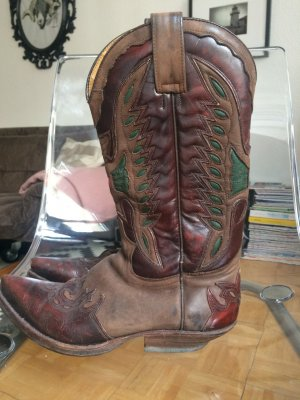 Vintage Sendra Cowboy Stiefel
