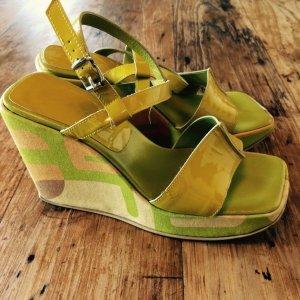 Sergio Rossi Clog Sandals multicolored