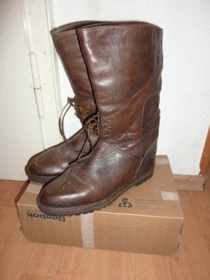 Vintage Shabby Stiefel braun 40