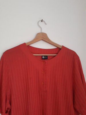 Vintage Oversized Shirt bright red