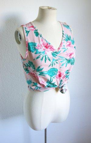 Vintage Shirt Hawaii, florales Shirt pink
